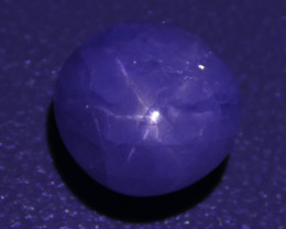 3.04 ct Unheated Blue Ceylon Star Sapphire