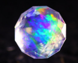 Majestic Opal 4.82Ct Natural Mexican Master Cut ContraLuz Opal AN88