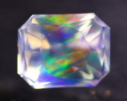 Majestic Opal 4.38Ct Natural Mexican Master Cut ContraLuz Opal AN94