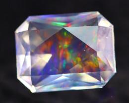 Majestic Opal 2.12Ct Natural Mexican Master Cut ContraLuz Opal AN96