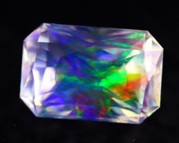 Majestic Opal 3.56Ct Natural Mexican Master Cut ContraLuz Opal AN98