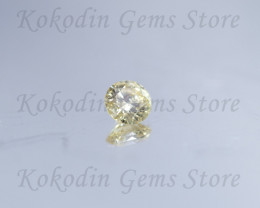Natural Light Yellow Diamond 0.150 ct VS1 No Certificate LOT - 526