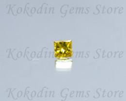 Intense Natural Yellow Diamond 0.045 ct No Certificate LOT 517