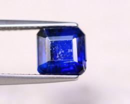 2.62ct Natural Blue Kyanite Square Cut Lot GW7256