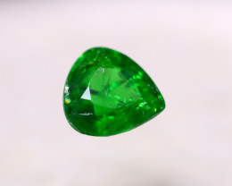 1.01ct Natural Tsavorite Garnet Pear Cut Lot GW7254