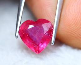 2.98ct Pink Ruby Heart Cut Lot GW7250