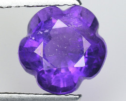 2.34 Ct  Natural Amethyst Top Cutting Top Quality Gemstone. ATF 03