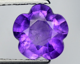 1.83 Ct  Natural Amethyst Top Cutting Top Quality Gemstone. ATF 10