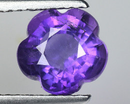 1.80 Ct  Natural Amethyst Top Cutting Top Quality Gemstone. ATF 12