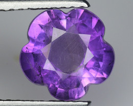 1.81 Ct  Natural Amethyst Top Cutting Top Quality Gemstone. ATF 17