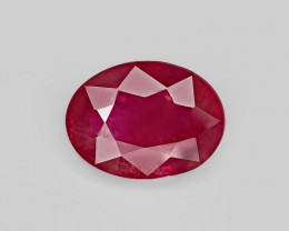 Ruby, 3.41ct - Mined in Burma   Certified by GIA