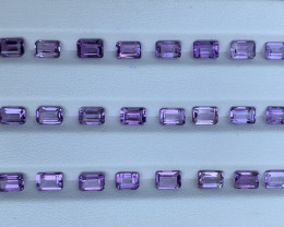 15.18 Carats Amethyst  Gemstones Parcels