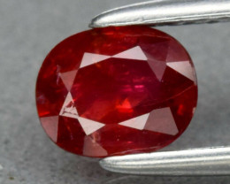 Natural Untreated Red Ruby - 0.66 ct