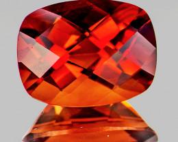 10x8 mm Cushion 2.62cts Red-Orange Andesine [VVS]