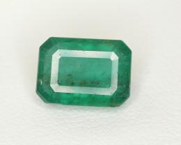 3.55  Ct Brilliant Color Natural Zambian Emerald