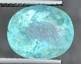 Paraiba 4.10 Carats Natural Color Paraiba Tourmaline Gemstone