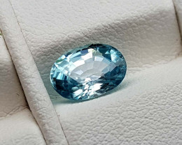 2.05Crt Blue Zircon Natural Gemstones JI96
