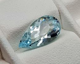 1.85Crt Aquamarine  Natural Gemstones JI96