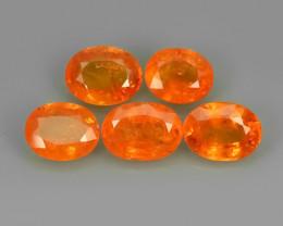 7.30 Cts Unheated Natural Orange Spessartite Garnet Namibia Gem
