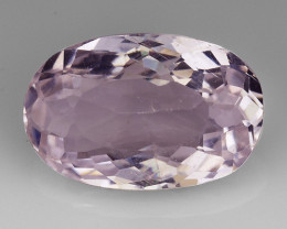 3.94 Natural Kunzite Awesome Color & Cut Gemstone KZ42