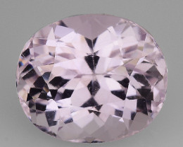 3.58 Natural Kunzite Awesome Color & Cut Gemstone KZ53