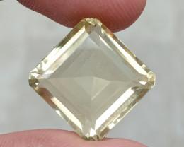 19.05 CT LEMON QUARTZ Top Quality Gemstone Natural Untreated VA548