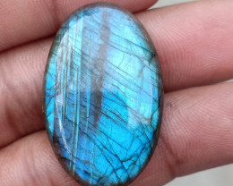 LABRADORITE CABOCHON NATURAL UNTREATED GEMSTONE VA555