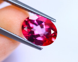 2.90cts Natural Pink Colour Topaz / RD696