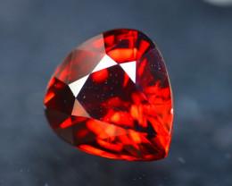 Rhodolite 4.78Ct Natural Cherry Red Rhodolite Garnet DR90