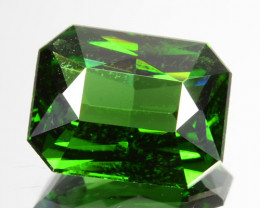 ~RARE~ 2.70 Cts Natural Zircon Sparkling Green Radiant Cut Sri Lanka