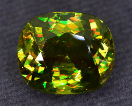 Rare AAA Fire 5.01 ct Sphene Sku-52