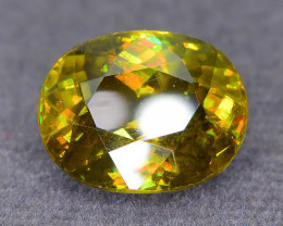 Rare AAA Fire 5.48 ct Sphene Madagascar Sku-52