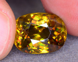 Rare AAA Fire 7.80 ct Sphene Sku-52
