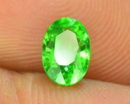 AAA Grade 0.90 ct Forest Green Tsavorite Garnet
