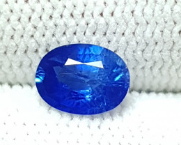 CERTIFIED 1.20 CTS NATURAL STUNNING OVAL MIX ROYAL BLUE SAPPHIRE CEYLON