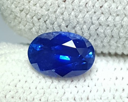 CERTIFIED 1.28 CTS NATURAL STUNNING OVAL MIX ROYAL BLUE SAPPHIRE CEYLON