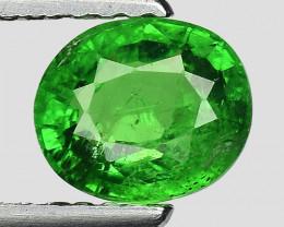 1.13 Ct Tsavorite Garnet Sparkling Luster Gemstone TS 125