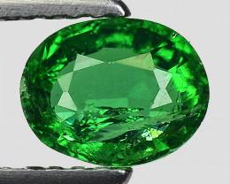 0.78 Ct Tsavorite Garnet Sparkling Luster Gemstone TS 126