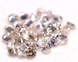 Pink Diamond 0.53Ct 1.50mm Natural Untreated Pink Diamond Lot BM64
