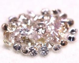 Pink Diamond 0.58Ct 1.30mm Natural Untreated Pink Diamond Lot BM67