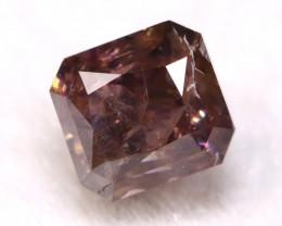 Purple Diamond 0.17Ct Natural Untreated Fancy Purple Diamond A1411