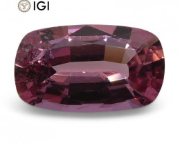 0.96 ct Cushion Pink Sapphire IGI Certified