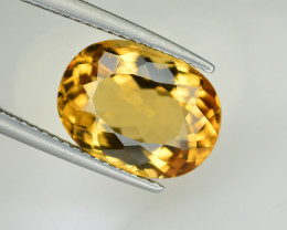 4.20  Ct Natural Heliodor ~ AAA Grade ~ Yellow Color