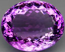 47.05Ct. Natural Rich Purple Amethyst Uruguay Attractive Unheated