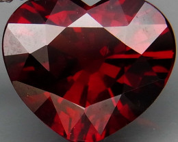 4.28 Ct. Natural Top Red Spessartite Garnet Africa Unheated