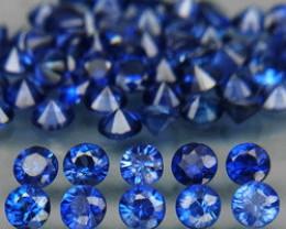 3.51 Ct. 2.3 mm Natural Cornflower Blue Sapphire Sri Lanka Diamond Cut - 62