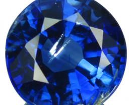 1.90 Cts Natural Royal Blue Kyanite 7.0mm Round Cut Nepal
