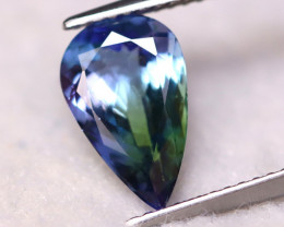 Tanzanite 2.44Ct Natural VVS Purplish Blue Tanzanite EN31