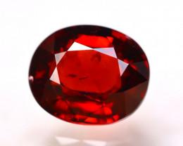 Rhodolite 4.85Ct Natural VVS Cherry Red Rhodolite Garnet EN33