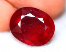 Ruby 12.60Ct Madagascar Blood Red Ruby EN36